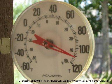 Picture of a thermometer.