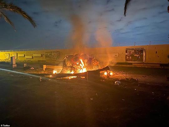 Baghdad Airport Attack