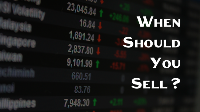 When Should You Sell a Stock